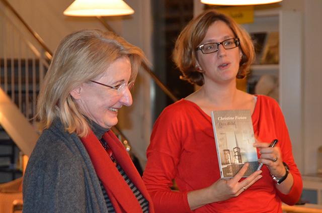 Bibliothek Erlenbach, mit Christine Fivian