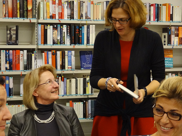 Bibliothek Geroldswil mit Christine Fivian