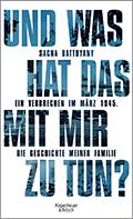 Thumbnail image for Sacha Batthyany / Und was hat das mit mir zu tun?