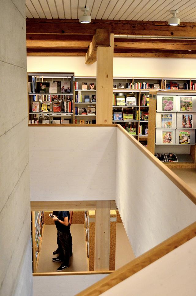 Eröffnung neue Stedli Bibliothek Laufen