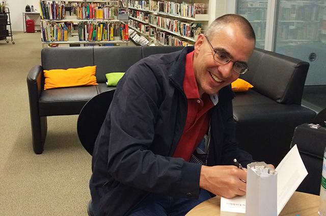 Bibliothek Zollikofen mit Peter Beck