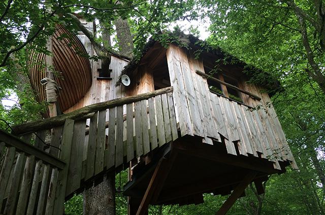 "Baumhaus ""Makis Catta"", Parc Animalier de Sainte-Croix"