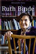 Thumbnail image for Alexander Sury / Ruth Binde. Ein Leben für die Literatur