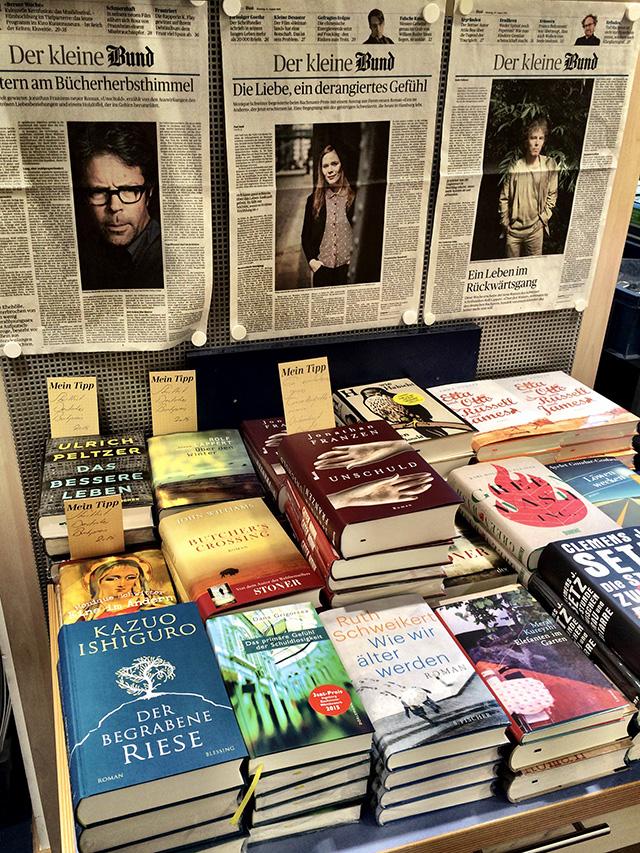 Auf der Suche nach dem Schweizer Buchpreis
