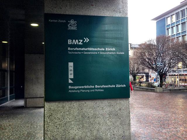 Baugewerblichen Berufsschule Zürich