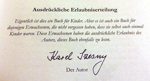 Karel Szesny / Das Sternenglöckchen