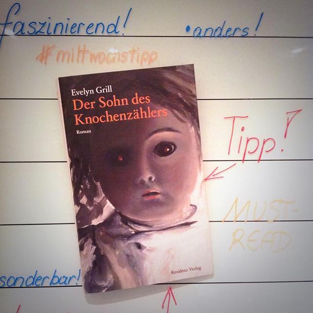 DER SOHN DES KNOCHENZÄHLERS von Evelyn Grill