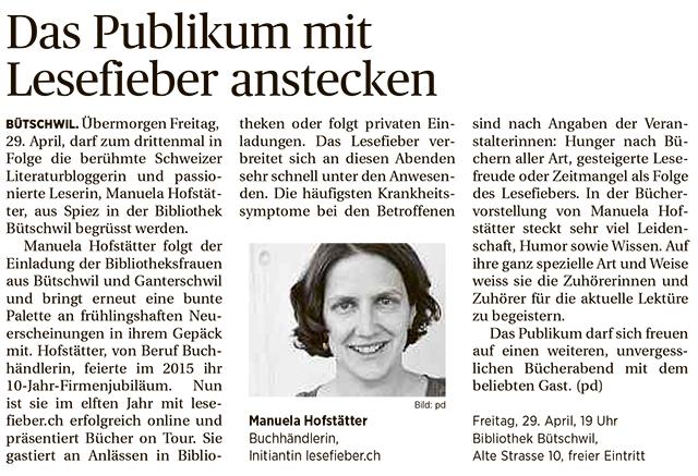 Toggenburger Tagblatt vom 28.4.2016