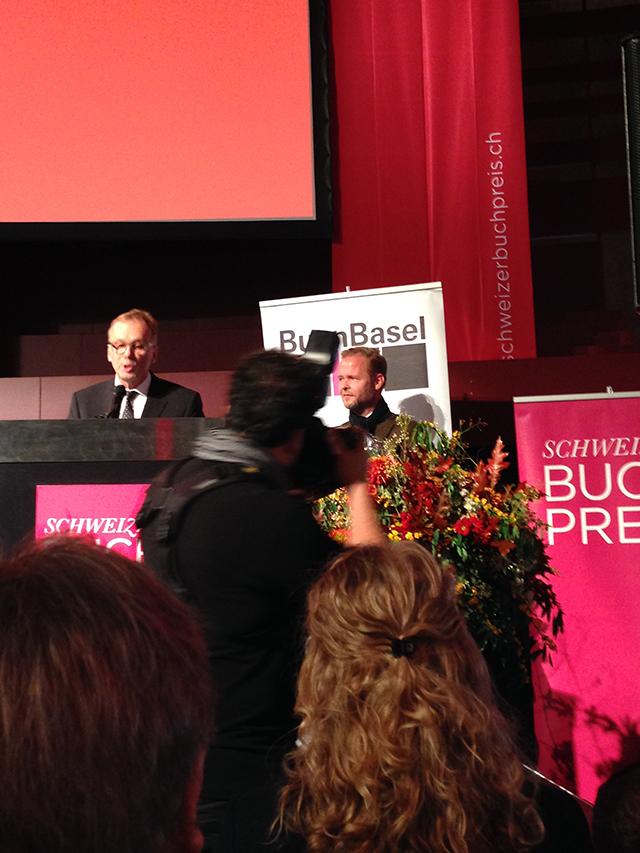 Die Verleihung des Schweizer Buchpreises 2016