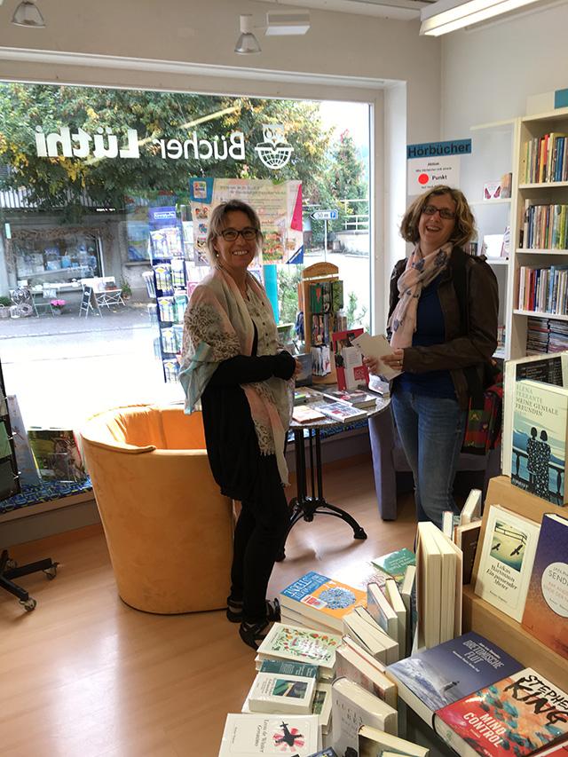 Die Buchpreisgewinnerin in Steffisburg