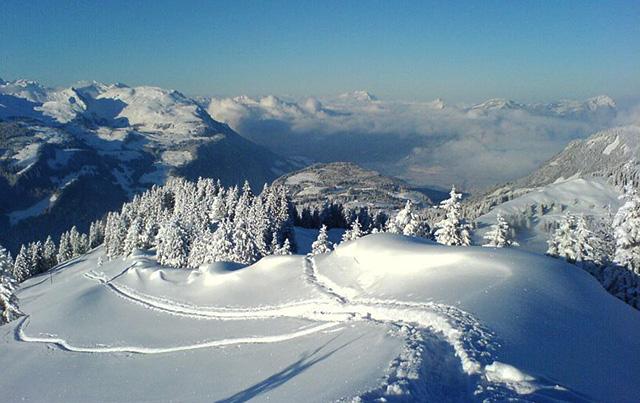 Blanca Imboden - Drei Frauen im Schnee