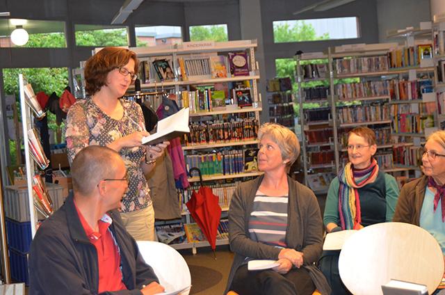 Bibliothek Zollikofen mit Peter Beck und Marianne Vogel Kopp